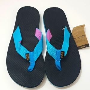 TEVA Original Collection Flip Flop Sandals size 7